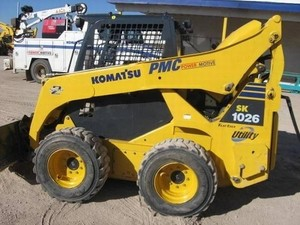 KOMATSU SK1026-5N SKID STEER LOADER SERVICE REPAIR MANUAL + OPERATION & MAINTENANCE MANUAL