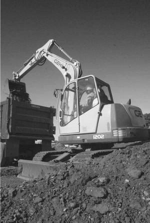 GEHL GE1202 Compact Excavator Parts Manual
