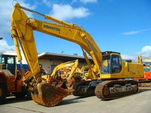 KOMATSU PC650-5, PC710-5 HYDRAULIC EXCAVATOR SERVICE REPAIR MANUAL