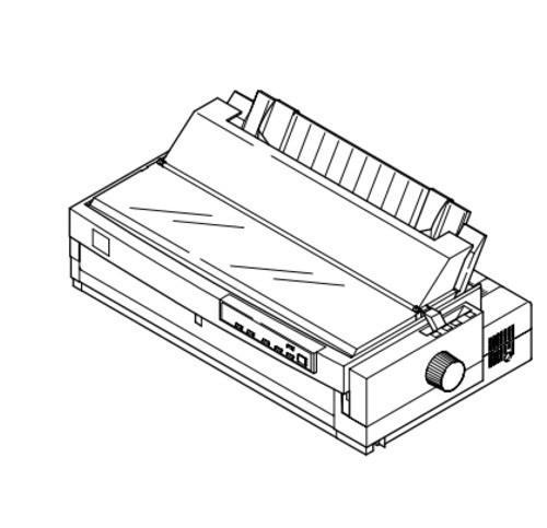 Epson LQ-2180 Impact Serial Dot Matrix Printer Service Repair Manual