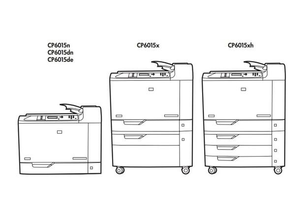 HP Color LaserJet CP6015 Series Printers Service Repair Manual