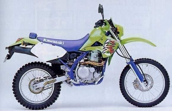 1993 KAWASAKI KLX650R, KLX650 MOTORCYCLE SERVICE REPAIR MANUAL