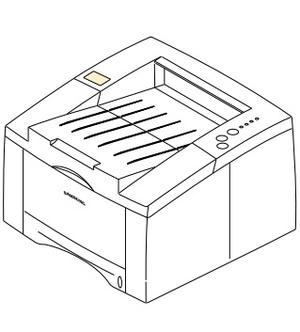 Samsung ML-6040/XEU Laser Printer Service Repair Manual