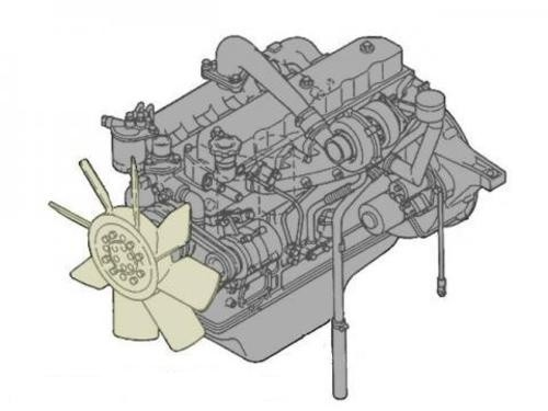 TOYOTA HILUX 1KZ-TE ENGINE SERVICE REPAIR MANUAL