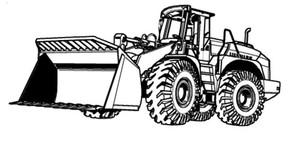 LIEBHERR L544, L544T WHEEL LOADER OPERATION & MAINTENANCE MANUAL