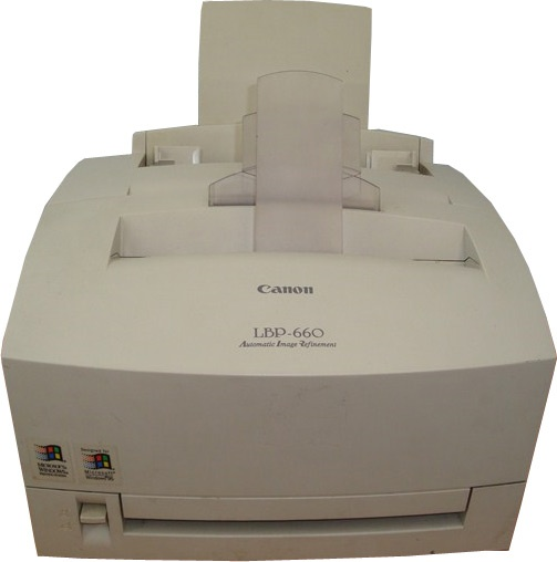 Canon LBP-660 Printer Windows 8 X64