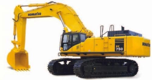 KOMATSU PC750-7, PC750SE-7, PC750LC-7, PC800-7, PC800SE-7 HYDRAULIC EXCAVATOR SERVICE REPAIR MANUAL