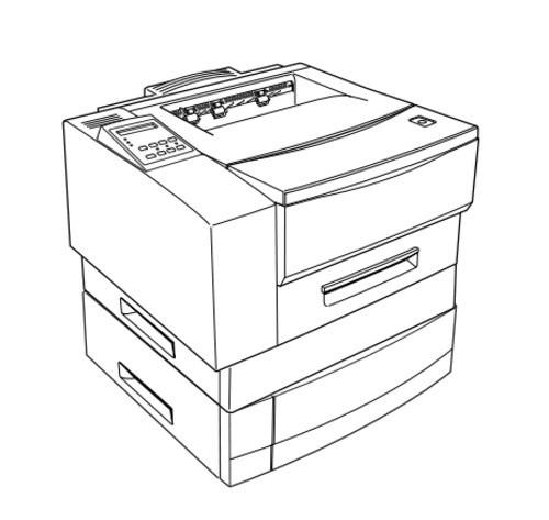 Epson EPL-N1600 Option 500 Sheets Feeder Service Repair Manual