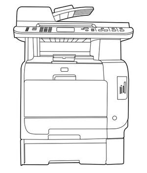 HP Color LaserJet CM2320 MFP Series Service Repair Manual