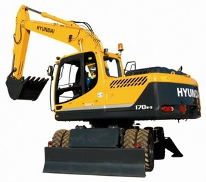 HYUNDAI R170W-9 WHEEL EXCAVATOR SERVICE REPAIR MANUAL