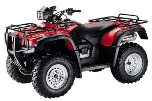 HONDA TRX500FA, TRX500FGA, TRX500FPA FOURTRAX FOREMAN RUBICON SERVICE MANUAL 2005-2012 DOWNLOAD