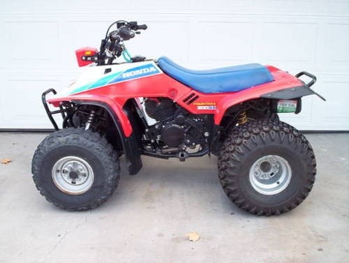 HONDA TRX200SX FOURTRAX ATV SERVICE REPAIR MANUAL 1986-1988 DOWNLOAD