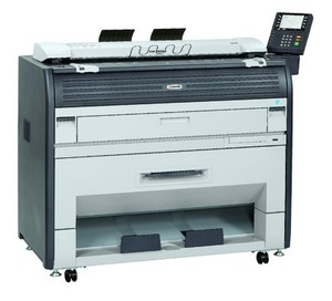 Kyocera KM-4800w Multi-Function Printer Service Repair Manual + Parts List