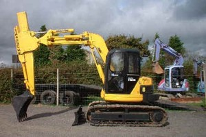 KOMATSU PC75UU-2 HYDRAULIC EXCAVATOR SERVICE REPAIR MANUAL + OPERATION & MAINTENANCE MANUAL