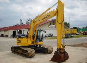 KOMATSU PC308USLC-3E0 HYDRAULIC EXCAVATOR SERVICE REPAIR MANUAL + OPERATION & MAINTENANCE MANUAL