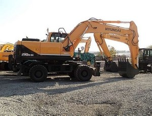 HYUNDAI R210W-9S WHEEL EXCAVATOR SERVICE REPAIR MANUAL