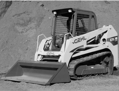 GEHL CTL60, CTL70, CTL80 Compact Track Loaders Parts Manual