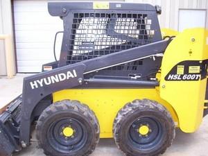 HYUNDAI HSL600T, HSL680T SKID STEER LOADER SERVICE REPAIR MANUAL