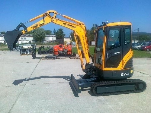 HYUNDAI R27Z-9 MINI CRAWLER EXCAVATOR SERVICE REPAIR MANUAL
