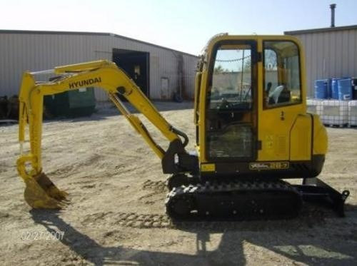 HYUNDAI ROBEX 28-7, R28-7 MINI EXCAVATOR SERVICE REPAIR MANUAL