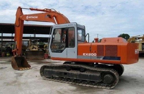 hitachi ex200 1 hydraulic excavator service repair man rh sellfy com Hitachi EX150 Hitachi EX150