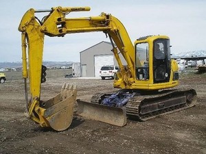 KOMATSU PC128UU-1, PC128US-1 EXCAVATOR SERVICE REPAIR MANUAL+OPERATION & MAINTENANCE MANUAL