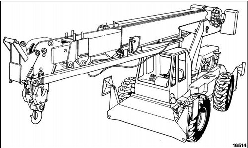 KOMATSU 150A, 150FA HYDRAULIC CRANE SERVICE REPAIR MANUAL + OPERATION & MAINTENANCE MANUAL