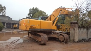HYUNDAI R305LC-7 CRAWLER EXCAVATOR SERVICE REPAIR MANUAL