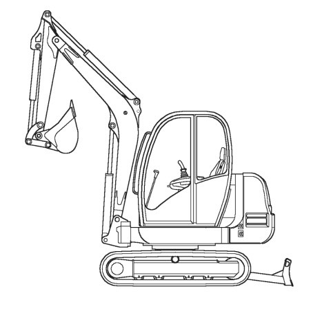 GEHL 193, 223 Compact Excavators Parts Manual