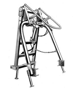 GEHL BH1500 Bale Handler Parts Manual