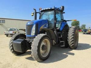 New Holland T8010, T8020, T8030, T8040 Series Tractors Service Repair Manual