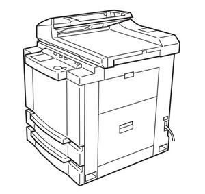 Océ 3121/3122 Service Repair Manual
