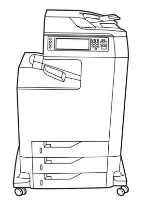 HP Color LaserJet 4730mfp series Service Repair Manual
