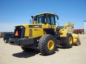 KOMATSU WA400-5 WHEEL LOADER SERVICE REPAIR MANUAL + OPERATION & MAINTENANCE MANUAL