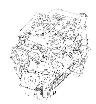 Deutz TD2009 L04 Engines Parts Manual