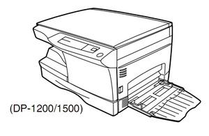 TOSHIBA DP1200, DP1500 DIGITAL PLAIN PAPER COPIER Service Repair Manual
