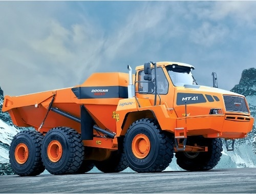 Doosan Moxy MT41 Articulated Dump Truck Service Repair Manual