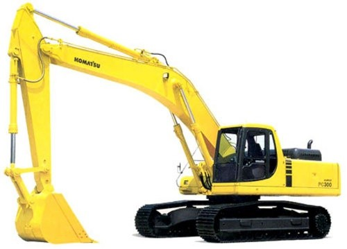 KOMATSU PC300-7, PC300LC-7, PC350-7, PC350LC-7 EXCAVATOR SHOP MANUAL+OPERATION & MAINTENANCE MANUAL