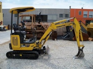 KOMATSU PC18MR-3 HYDRAULIC EXCAVATOR SERVICE REPAIR MANUAL+OPERATION & MAINTENANCE MANUAL
