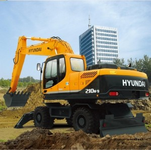 HYUNDAI R210W-9 WHEEL EXCAVATOR SERVICE REPAIR MANUAL