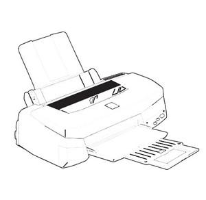 Epson Stylus Photo Color Ink-jet Printer Service Repair Manual