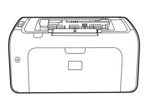 HP LaserJet P1000 Series printer Service Repair Manual