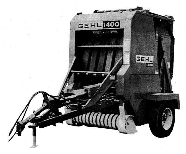 GEHL RB1400 Baler Parts Manual