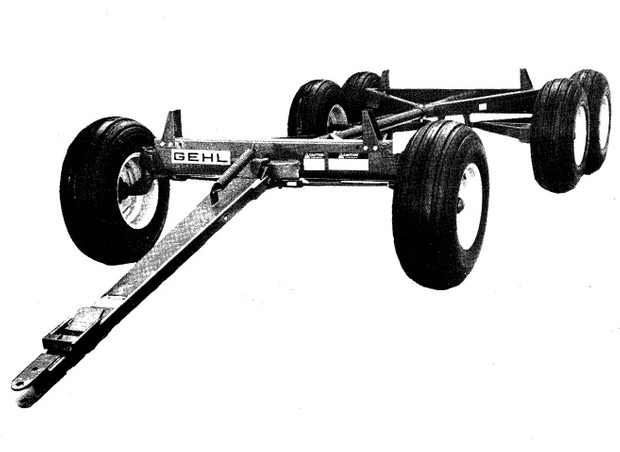 GEHL G Series 7 Running Gear Parts Manual