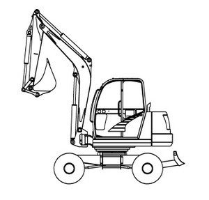 GEHL 652 Mini-excavator Parts Manual