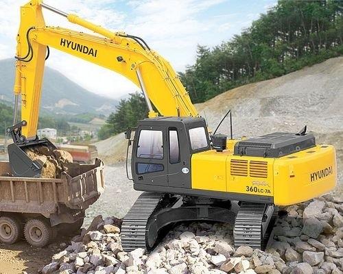 HYUNDAI R360LC-7A CRAWLER EXCAVATOR SERVICE REPAIR MANUAL
