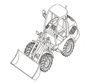 Takeuchi TW50 Wheel Loader Parts Manual (Serial No. E104063~)
