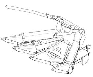 GEHL TR330 Three Row Attachment Parts Manual