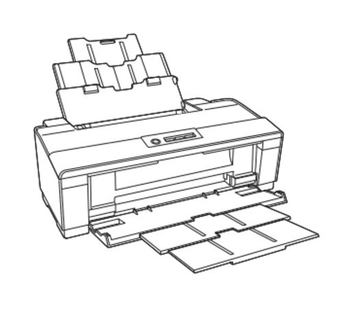 Epson WorkForce 1100, Epson Stylus Office T1110/B1100/T1100 Color Inkjet Printer Service Manual
