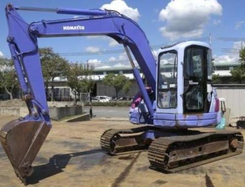 komatsu pc75uu 3 hydraulic excavator service repair ma rh sellfy com PC75UU Komatsu Excavators Komatsu PC75UU Parts